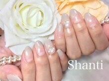 シャンティ ネイルサロン(Shanti nail salon)/大人の秋冬パールネイル☆