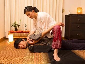 バンブー(bamboo)の写真/[初回限定・タイ古式60分¥7800→¥6500]首肩コリのスッキリ感がクセになるくつろぎの時間をお過ごし下さい
