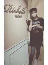 リシェルアイラッシュ 関内店(Richelle eyelash)/YouTuberのちゅるさんご来店♪