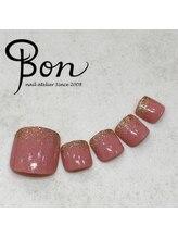 ネイルアトリエ ボン(nail atelier bon)/フットネイルサンプル☆
