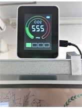 CO2センサー(日本製)で換気状況を【見える化】