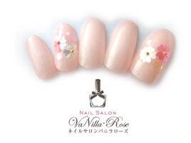 桜 ホロネイル7500円+税