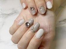 ネイルサロンブラン(nail salon BLANC)/ビジューネイル