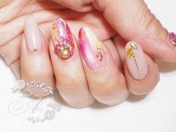 ネイルルーム アンドエー(nail room and...A)/ニュアンスカラー
