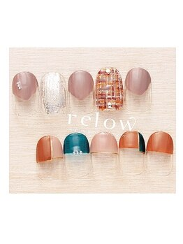 リロウ(relow)/11月キャンペーンネイル1☆
