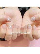 ピンクマジック(PINKMAGIC)/ショートネイル
