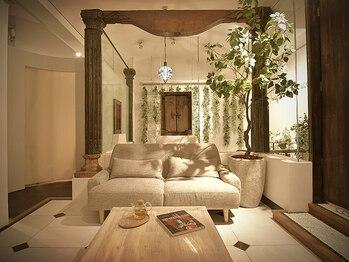 オハナテラス(ohana terrace)の写真/まるでプライベートリゾート★ご来店からお帰りまで非日常を味わえる、私のための癒し空間♪