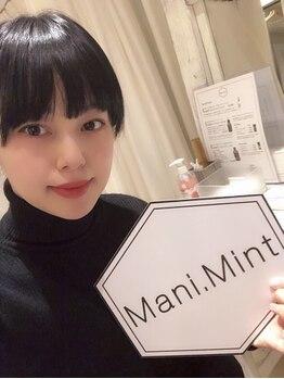 マニミント 表参道店(mani.mint)/青柳文子さんご来店