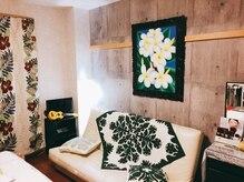 ラニ プルメリアの雰囲気(ハワイをイメージした完全個室のほっと落ち着く空間)