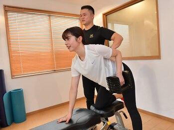 """メディフィット(MEDI FIT)の写真/今こそ痩せましょう!! トレーナーと一緒に""""太る""""を繰り返さない,自力でスタイルキープできるカラダ造りへ♪"""