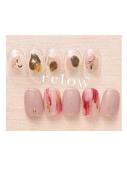 リロウ(relow)/11月キャンペーンネイル2☆