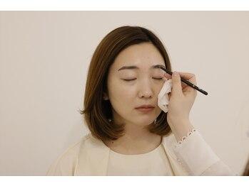 ナキ(Naki)/仕上げのメイクデッサン