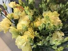 ビインク(b-ink)の雰囲気(季節のお花の香りとともに癒されて下さい♪)