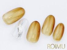 ロイム(ROIMU)/透け感ワンカラー