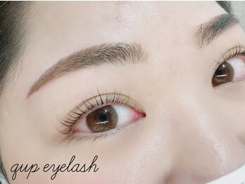 クプアイラッシュ 新宿店(qup eyelash)の写真/理想の眉毛スタイリング☆アイブロウWAXでマスク映え!!シャープで印象的な際立つ目元を繊細に再現♪