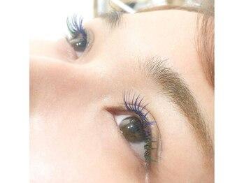 アイラッシュサロン ルル(Eyelash Salon LULU)/ブルー&グリーンmix