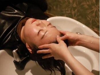 ヘッドスパサロン リアンジュの写真/今大注目のヘッドスパで極上の癒し体験を…♪『頭』と『髪』だけじゃない!お顔のくすみやリフトUP効果大☆