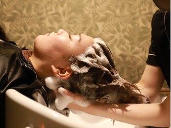 """ヘッドスパサロン リアンジュの写真/照明・音楽・香り…空間や技術、""""癒し""""全てにこだわりぬいた本格ヘッドスパ★プロの手で極上の時間を♪"""