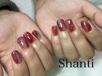 シャンティ ネイルサロン(Shanti nail salon)/大人のニュアンスネイル♪