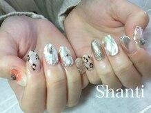 シャンティ ネイルサロン(Shanti nail salon)/個性派シェルタイルネイル!