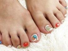 シャンティ ネイルサロン(Shanti nail salon)/個性的フットネイル!