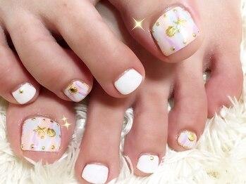 シャンティ ネイルサロン(Shanti nail salon)/海、夏フットネイル!