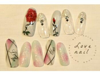 ラブネイル(LOVE NAIL)/定額12000円a)