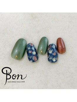 ネイルアトリエ ボン(nail atelier bon)/シェラックネイルデザイン