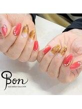 ネイルアトリエ ボン(nail atelier bon)/べっ甲ネイル