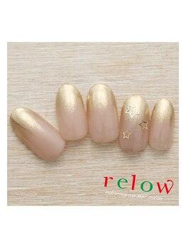 リロウ(relow)/12月のスタッフおすすめネイル♪