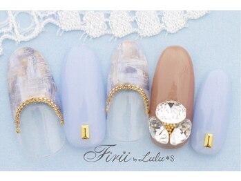 フィリーバイルルズ 神戸三宮店(Firii by Lulus)/10本季節デザインコース¥5980