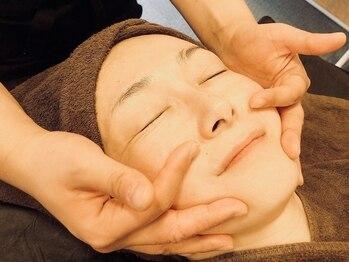 ハッピービューティーサロン じゆう(Happy Beauty Salon J∞YOU)の写真/中四国では希少な新メニュー導入!【3D小顔コルギ美容40分¥6000】小顔効果×目元も大きくスッキリな印象に♪