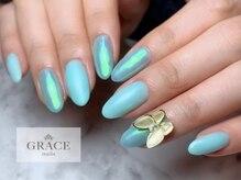 グレース ネイルズ(GRACE nails)/オーロラバタフライ