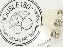 """ネイルズヴィアンカ(Nail's Vianca)の雰囲気(DOUBLE180 from """"3D NAIL ART"""" training Program ♪)"""