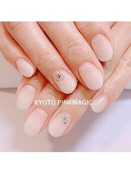 ピンクマジック(PINKMAGIC)/白グラデーション