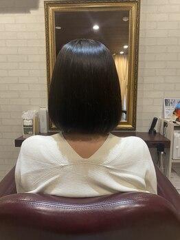 ヒトツ(HITOTSU)/ツヤ髪へ