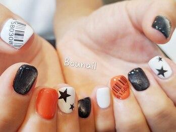 ボネール(nail & eyelash Bounail)/アシンメトリー マグネット