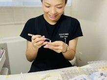 クロエクロウ 柏崎店(Chloe'Crow)の雰囲気(ネイルの大好きなスタッフが丁重にフィルインで爪を労ります。)