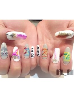 nail miii & eyelush【ネイルミーアンドアイラッシュ】(hair+resort valentine)_デザイン_09