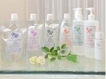 美容リンパセラピー クルールローズの雰囲気(ピカソ美化学研究所と共同開発した、高機能コラーゲン化粧品。)