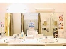 脱毛サロン ラココ 姫路店(la coco)の雰囲気(衛生的で清潔なパウダールーム☆化粧水やヘアケア用品も充実♪)