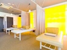 タイセイカン 大府店(TAiSEiKAN)の雰囲気(施術スペースは白を基調としていて、清潔感も◎)