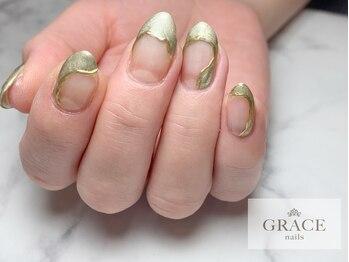 グレース ネイルズ(GRACE nails)/うねうねミラー
