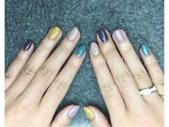 [nail] 春カラー 初回¥7360