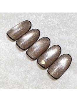 ライト ネイルズ ニシノミヤ(light nails NISHINOMIYA)/秋キャンペーンネイル☆¥7150円