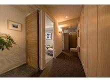 ラシエラソラ(LA CIELA SOLA)/ホテルライクな3つの個室を用意