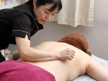 筋膜リリースの正規資格も取得しています。