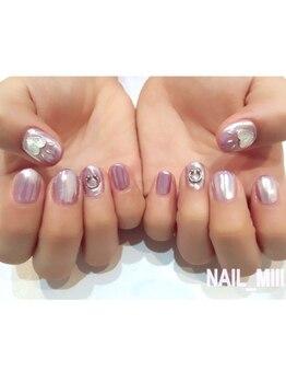 nail miii & eyelush【ネイルミーアンドアイラッシュ】(hair+resort valentine)_デザイン_10