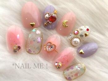 ネイルミー(nail me!)/ネイルUP!別冊本掲載デザイン