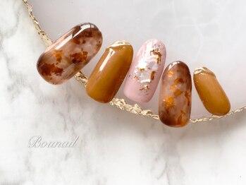 ボネール(nail & eyelash Bounail)/パラジェル ニュアンスネイル